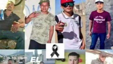 perfil de jovenes asesinados durante fiesta en mexico