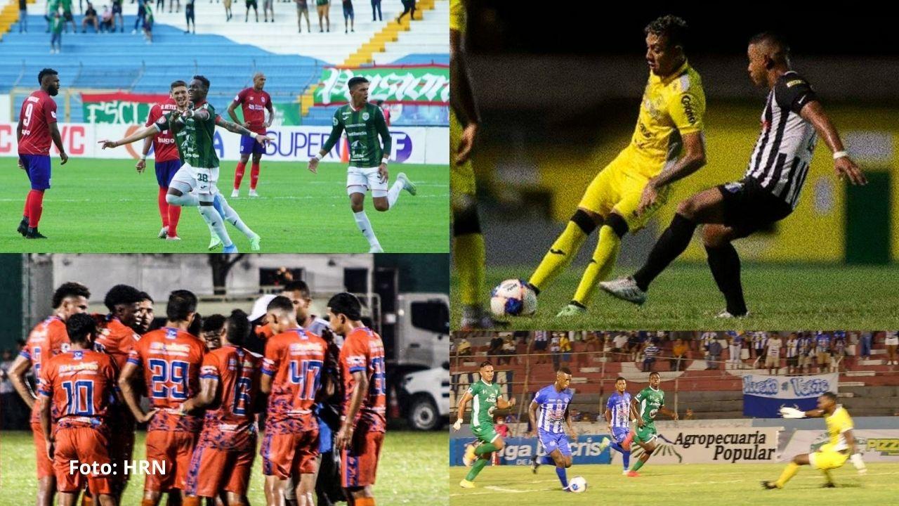 Vida continúa liderando la tabla en la jornada 9 del Torneo Apertura