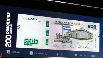 circulacion del billete de 200 lempiras