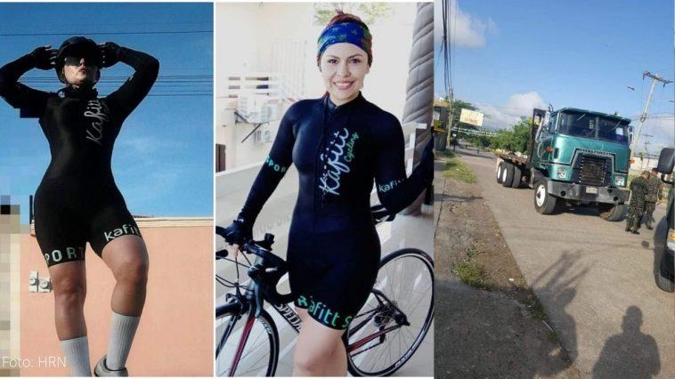 ciclista muere atropellada en comayagua