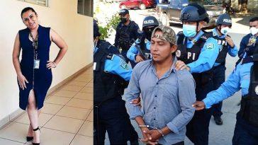 en imagen abogada asesinada con collage del segundo implicado en su muerte
