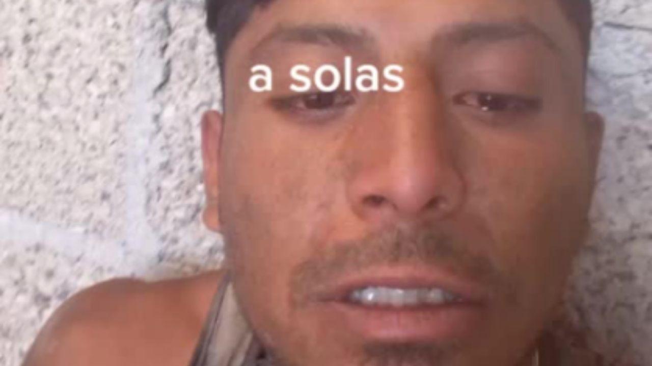 VIDEO: Albañil llora por estar solo en su cumpleaños y se vuelve viral
