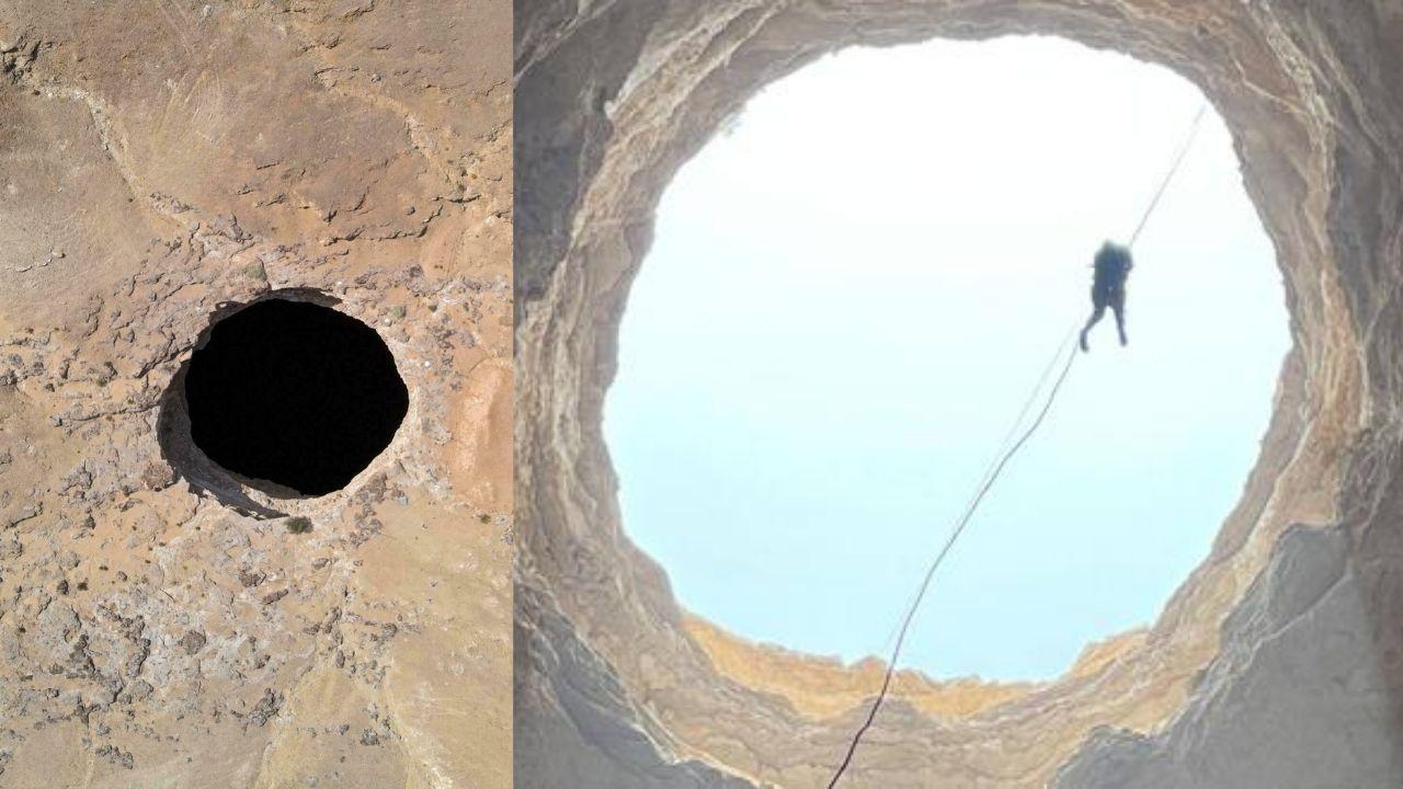 ¡Escalofriante! Esto hallaron científicos que descendieron al misterioso 'pozo del infierno'