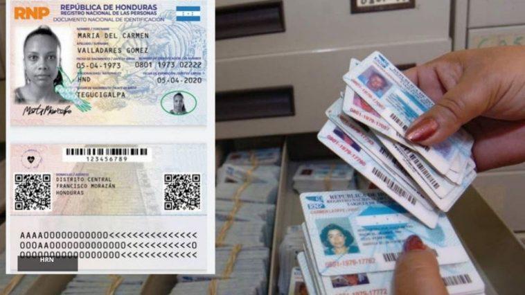 nueva tarjeta identidad en honduras