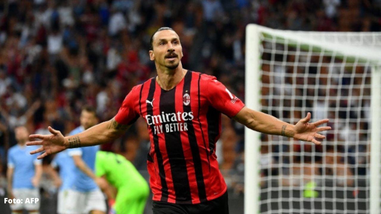 AC Milan gana 2-0 a Lazio en regreso con gol de Ibrahimovic