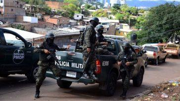 Operativo en Honduras