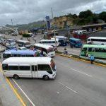 Paro de labores en Tegucigalpa