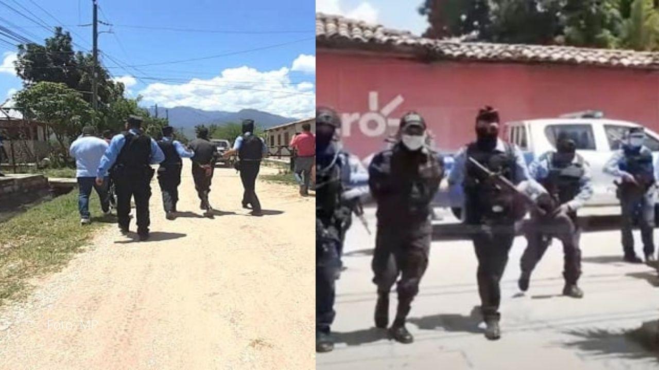 Capturan a dos policías hondureños que ingresaban droga a prisión; mira a quiénes obligaban a venderla
