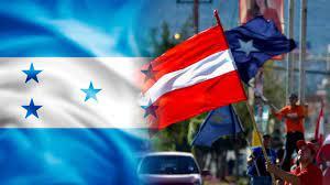 banderas de los partidos politicos en honduras