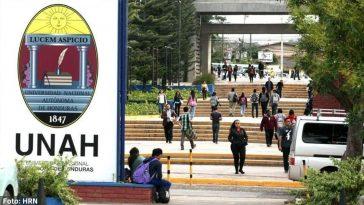 Clases presenciales en la Universidad Nacional Autónoma de Honduras