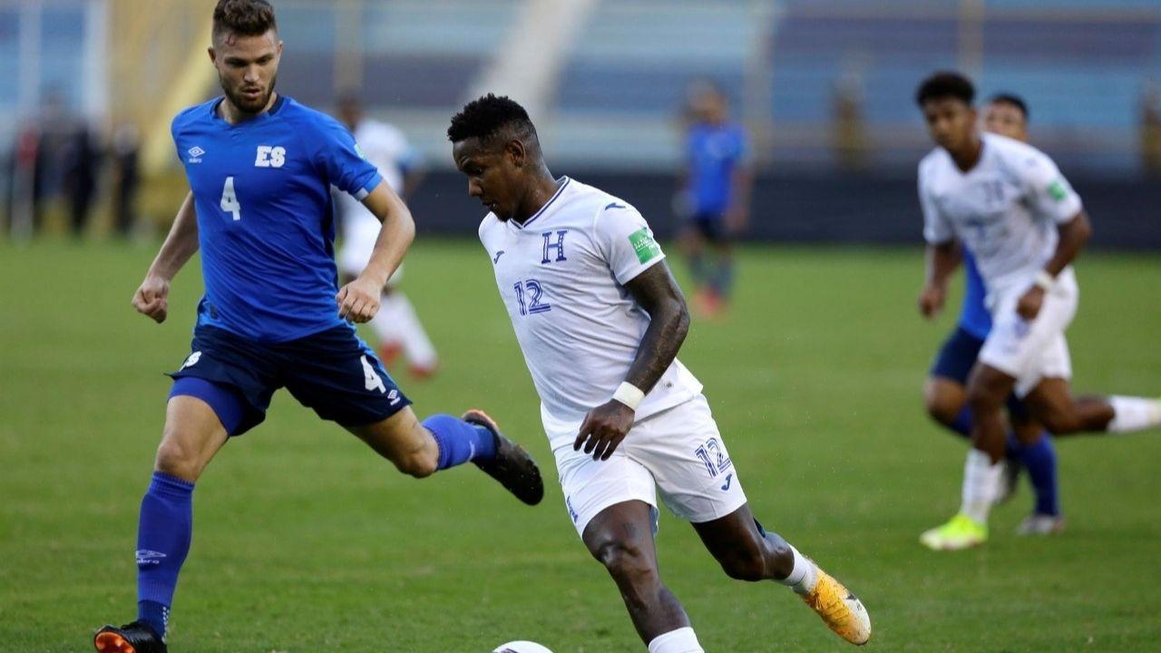 Honduras suma valioso empate de visita en el Cuscatlán ante El Salvador