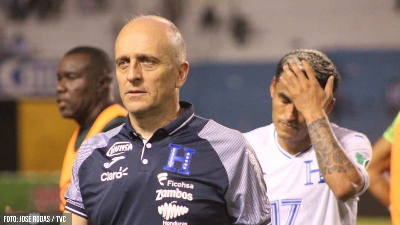 Fabián Coito fuera de la Selección de Honduras