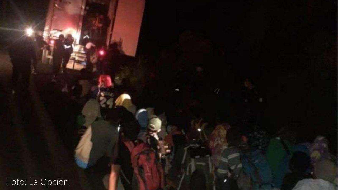 Rescatan en Guatemala a 126 migrantes abandonados de Haití, Nepal y Ghana