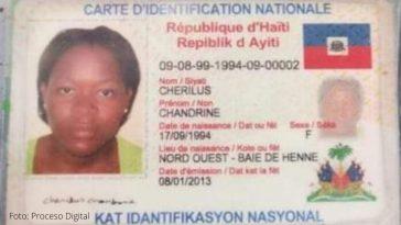 Identificación de haitiana