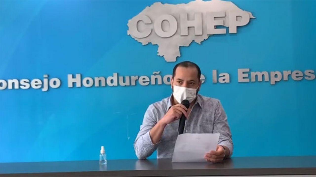 'El toque de queda ya no es una solución para controlar la pandemia', Gustavo Solórzano del Cohep