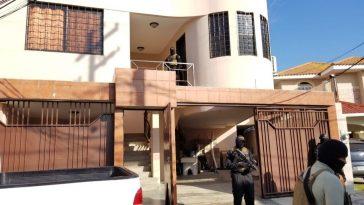En un apartamento fueron detenidos los miembros de la estructura criminal.