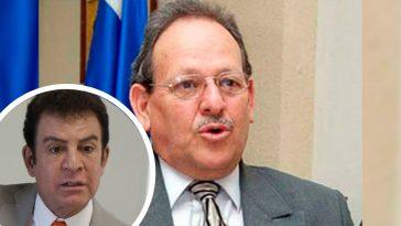 Fernando Anduray junto a Salvador Nasralla.