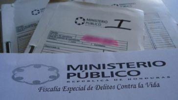 expediente del ministerio público