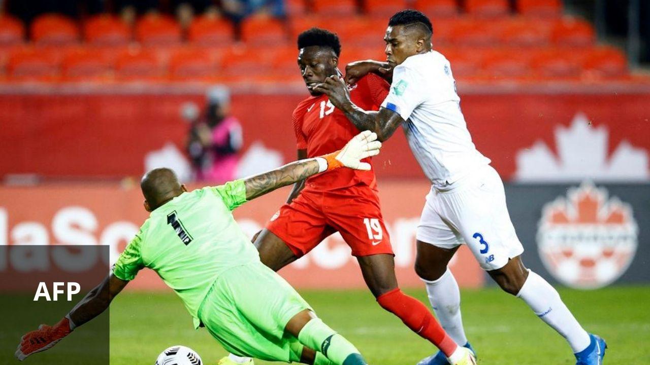 Canadá goleó 4-1 a Panamá rumbo a Qatar 2022