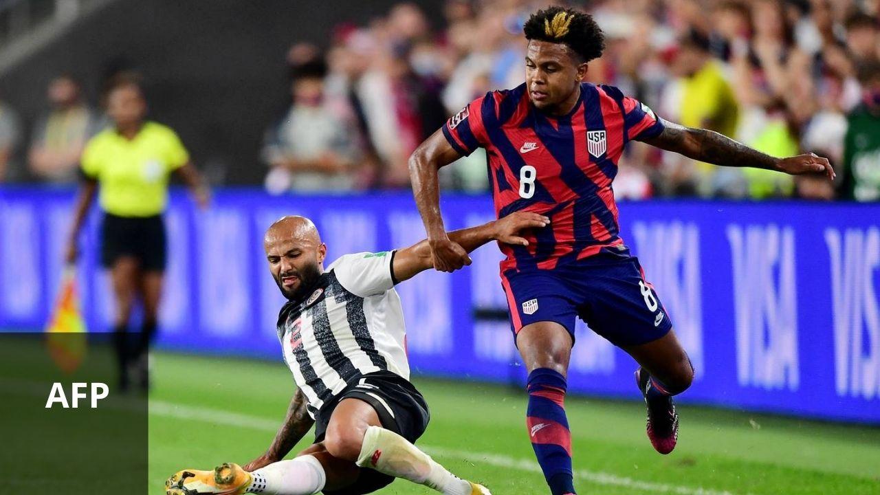 Estados Unidos venció 2-1 a Costa Rica rumbo a Qatar 2022