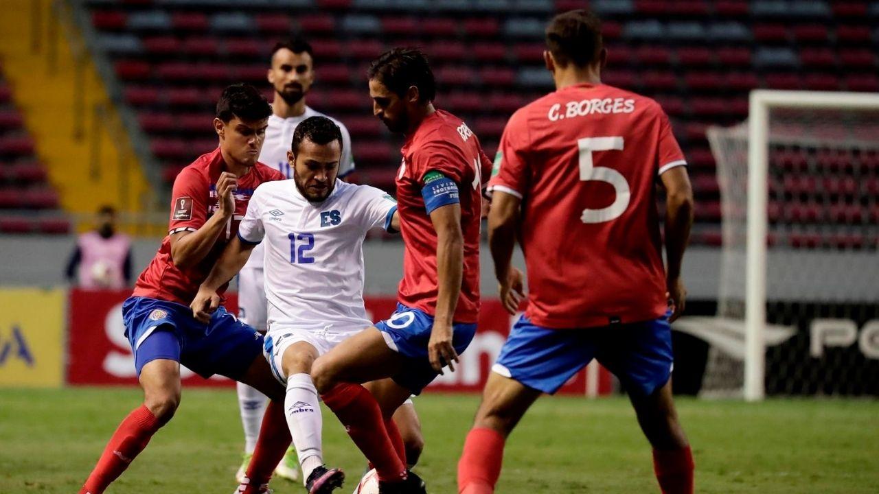 Costa Rica ganó 2-1 ante El Salvador en las eliminatoria rumbo a Qatar 2022