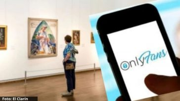 montaje museo y OnlyFans