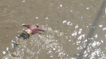 cadaver del hombre fue encontrado en el rio choluteca
