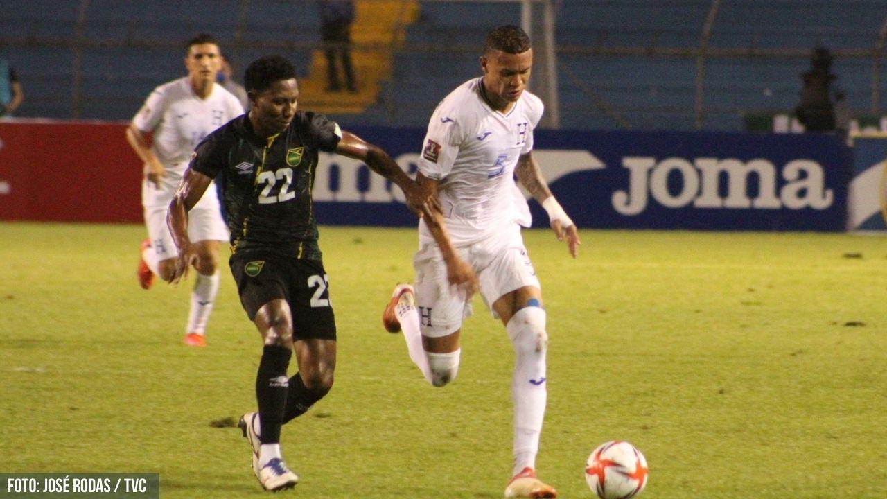 Honduras sucumbió en su casa ante Jamaica y se hundió en la eliminatoria rumbo a Qatar 2022