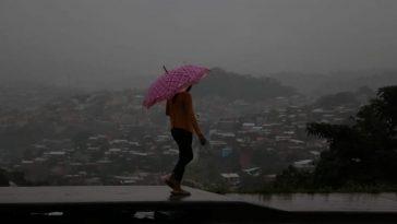 Las lluvias se estarán presentando en varias zonas de Honduras