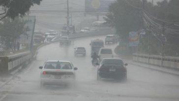 Las lluvias continuarán este jueves en Honduras.