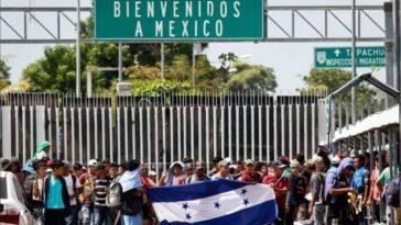 Al día son cientos de hondureños que buscan el sueño americano.