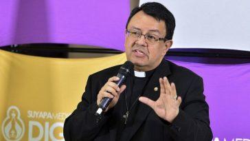El padre Juan Ángel López mandó un mensaje a los políticos.