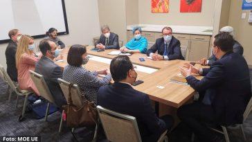 Reunión de MOE UE con el CNE