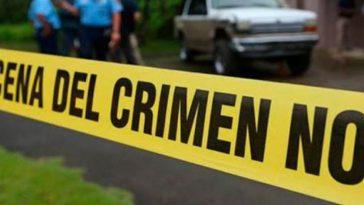 cinta amarilla en nuevo crimen en honduras
