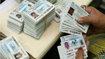 La vigencia de la tarjeta de identidad vence el 15 de octubre