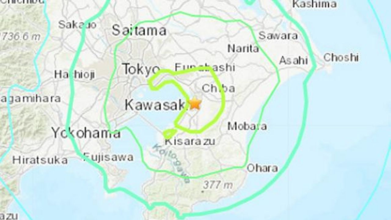 Un terremoto de magnitud 6.1 sacude Tokio y alrededores sin alerta de tsunami