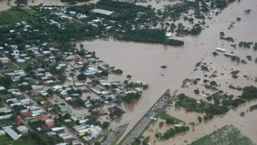 El Valle de Sula sufrió daños por Eta y Iota