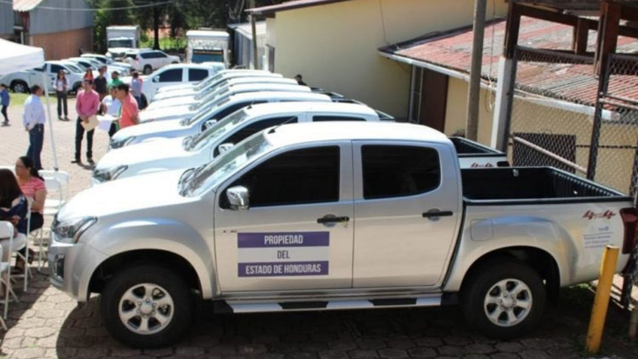 Decomisarán vehículos del Estado que circulen 36 horas antes de las elecciones en Honduras