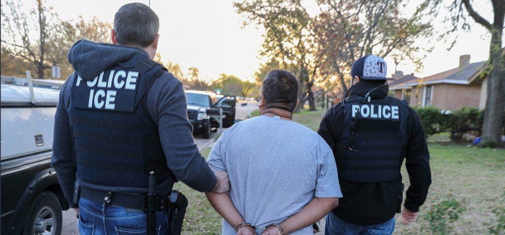 Detenciones de inmigrantes indocumentados sin tener antecedentes penales se incrementa en los últimos 4 años.