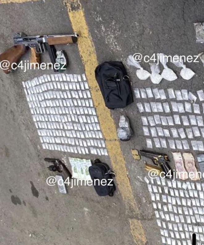 El Bandido fue capturado con armas de grueso calibre