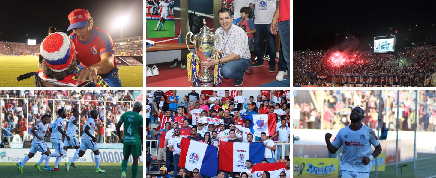 Olimpia levanta su copa 31: mira las mejores imágenes los mejores ...