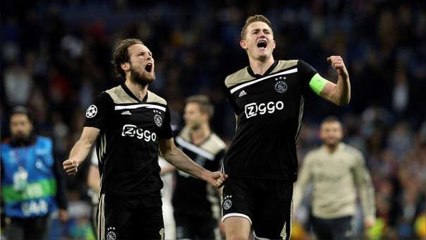 Ajax eliminó al Real Madrid