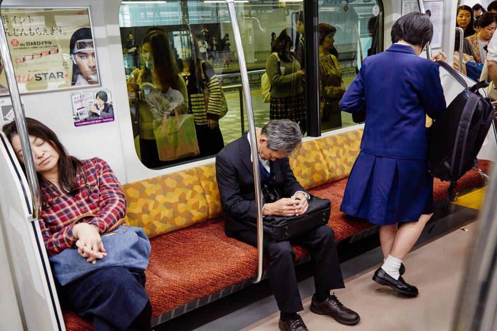 En Japón dormir en el trabajo es señal de tu esfuerzo