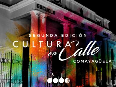 Rock N Pop y Gente apoyan Cultura en Calle, evento que tiene como objetivo rescatar espacios de Comayagüela