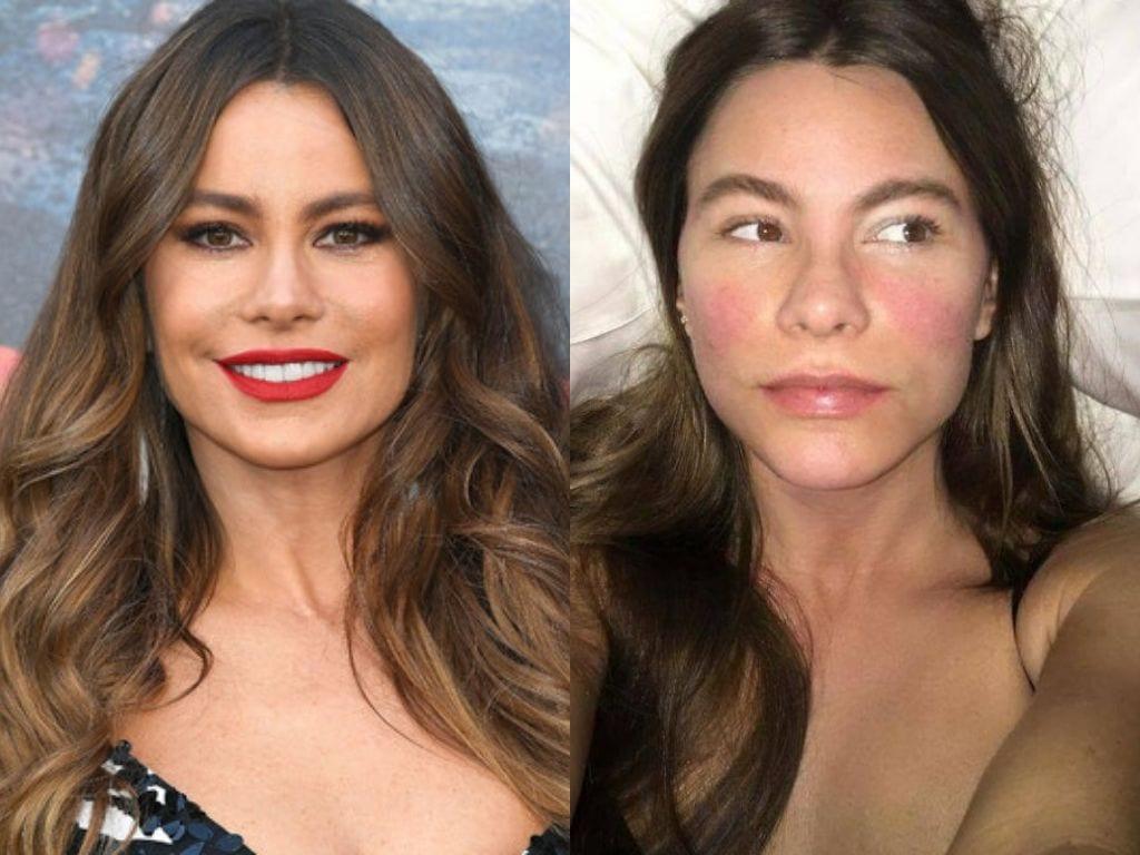 Las estrellas de Hollywood y de la industria musical aparecen en este selecto listado de las que se atrevieron a posar sin máscara...