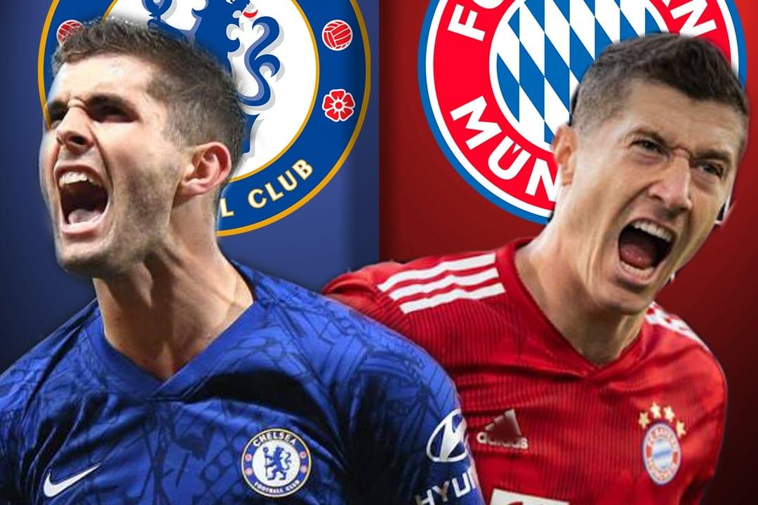 El Chelsea recibe al Bayern Múnich por los octavos de final de la UEFA  Champions League.