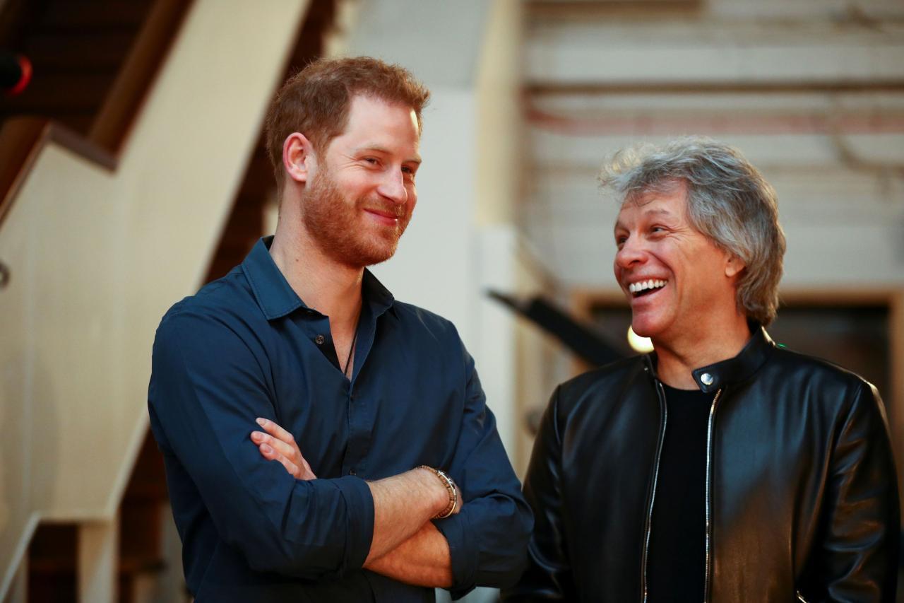 Nueva mente en el ojo del huracán el hijo menor de Diana de Gales y del Príncipe William, tras salir a la luz su reunión con el cantante Jon Bon Jovi en los estudios Abby Road para hacer un dueto.