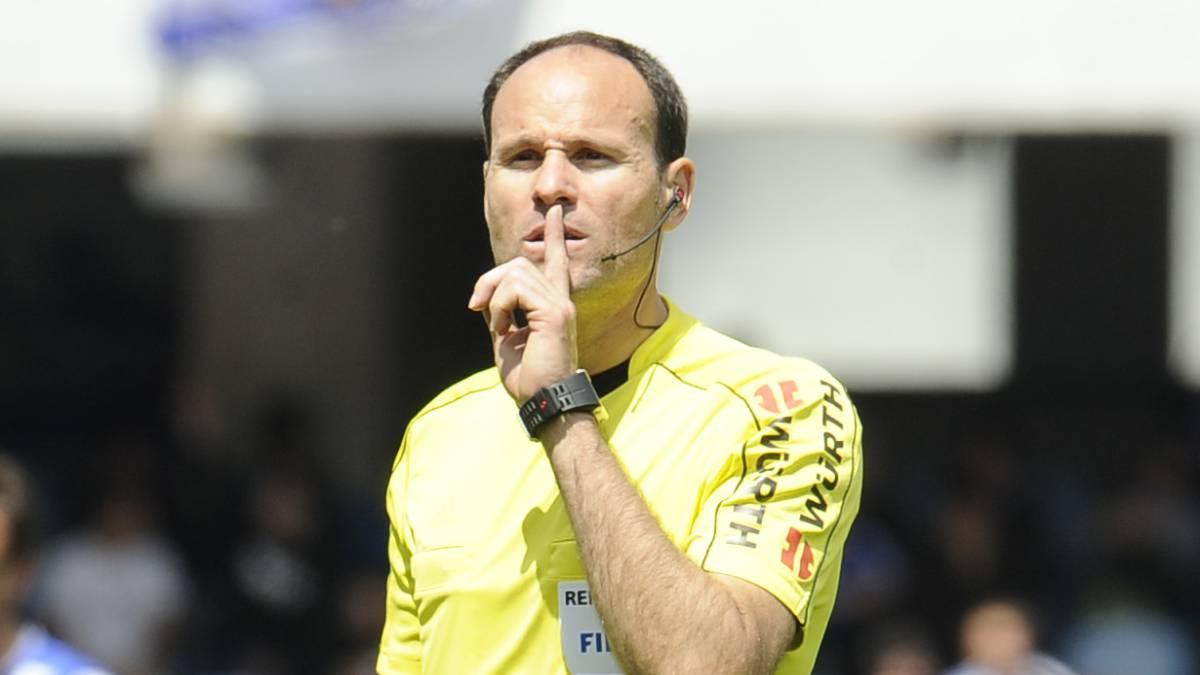 Lahoz pitará su quinto Clásico en toda su carrera