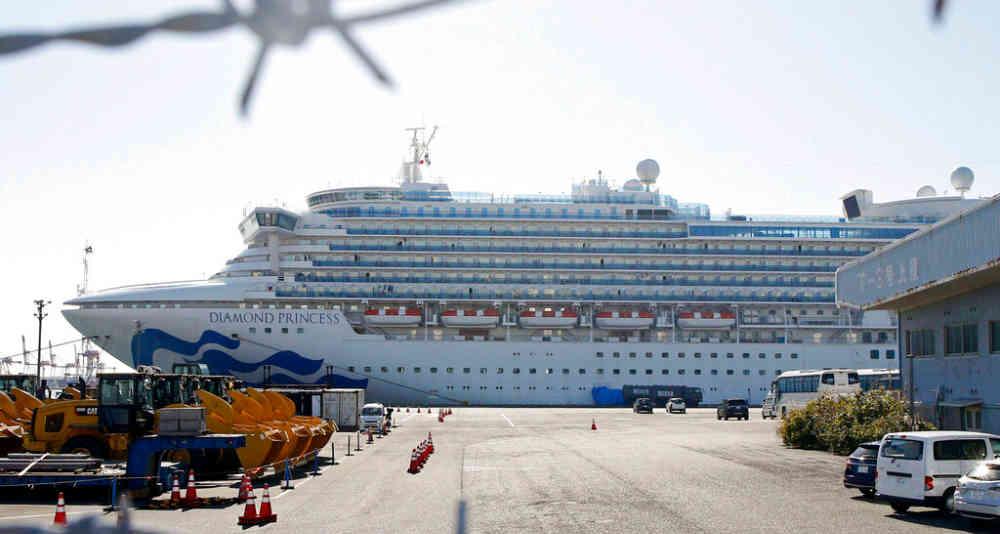 El sudamericano viajaba a bordo del crucero Diamond Princess, que se encuentra en cuarentena en Japón.
