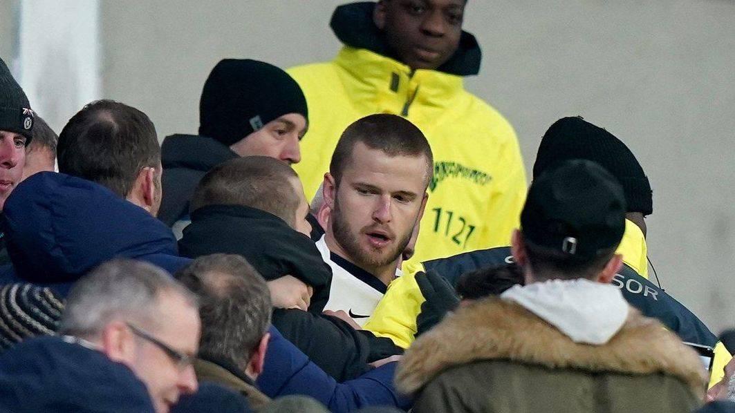 Sucedió en el partido por la FA Cup entre el Tottenham contra el Norwich City